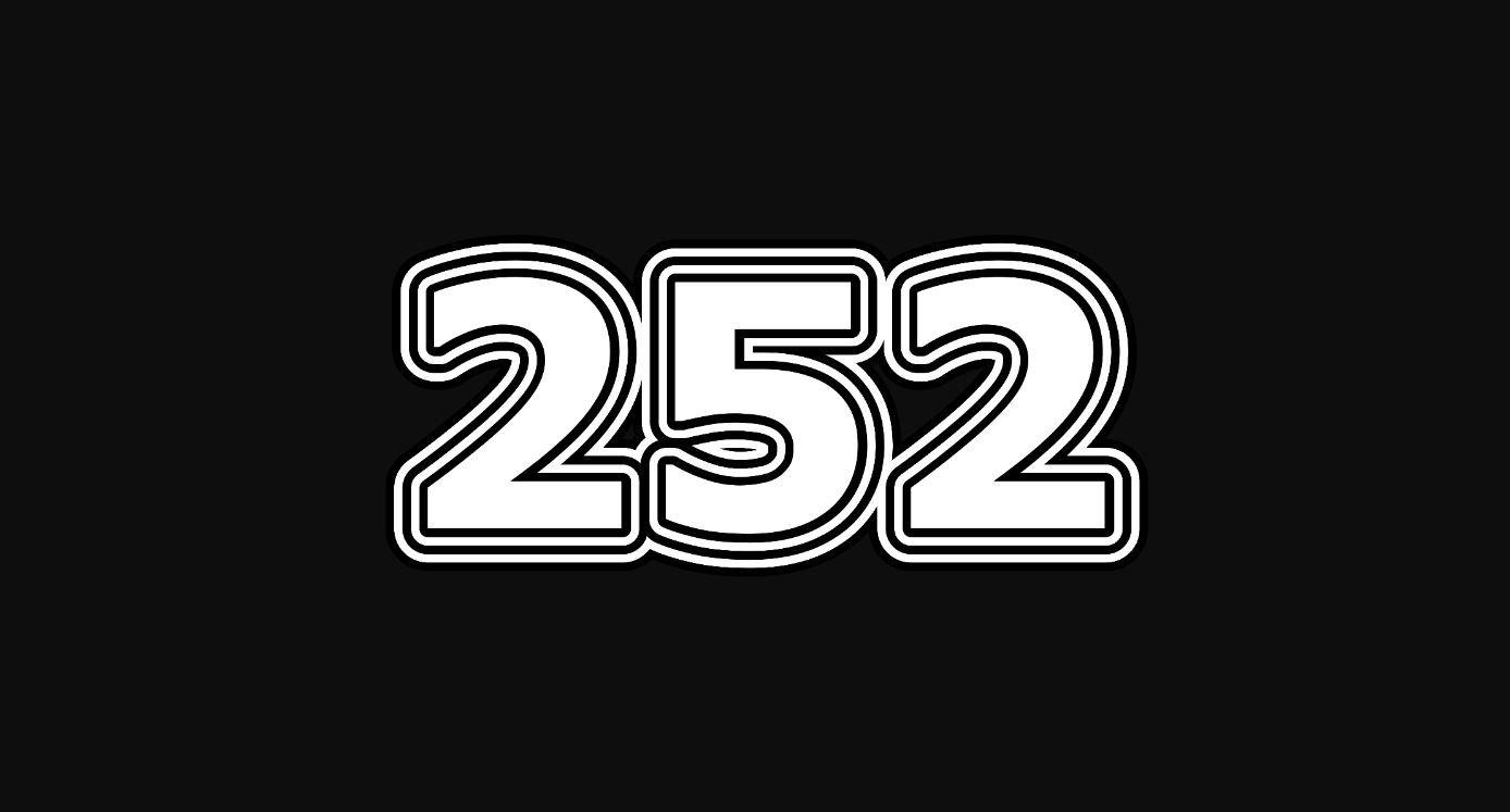 Il significato del numero 252