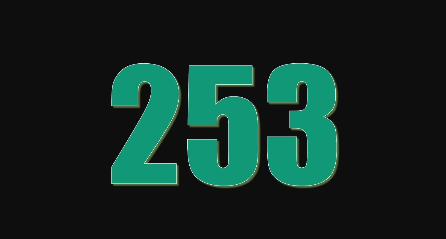 Il significato del numero 253