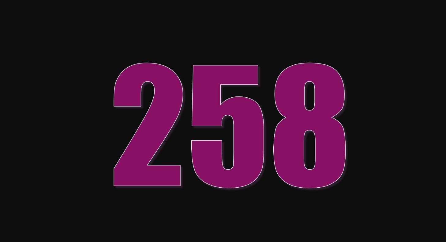 Il significato del numero 258