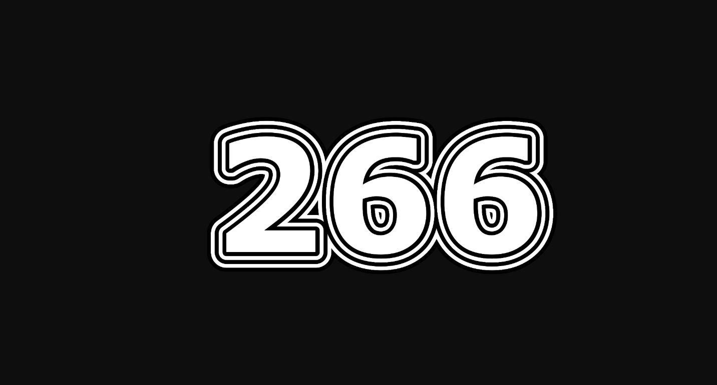 Il significato del numero 266