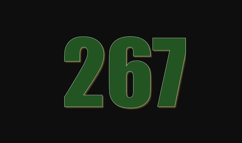Il significato del numero 267