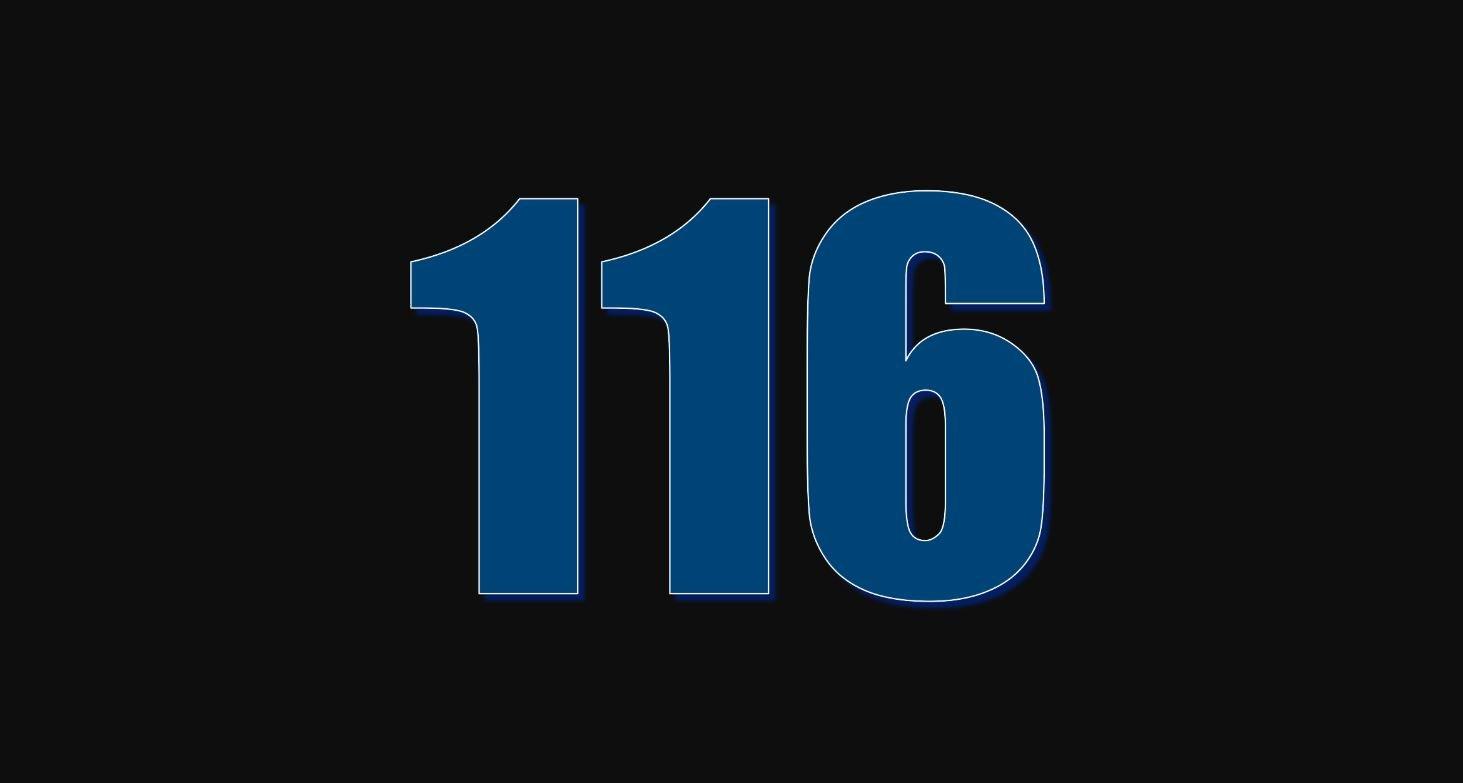 Il significato del numero 116
