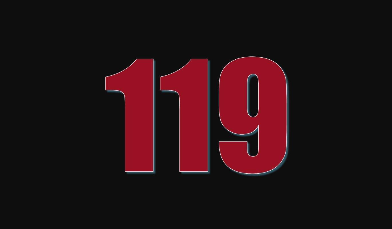 Il significato del numero 119