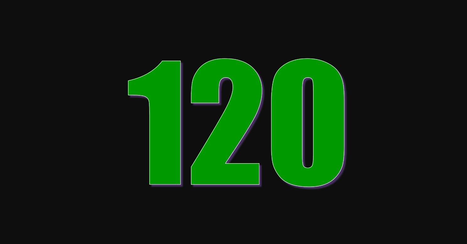 Il significato del numero 120