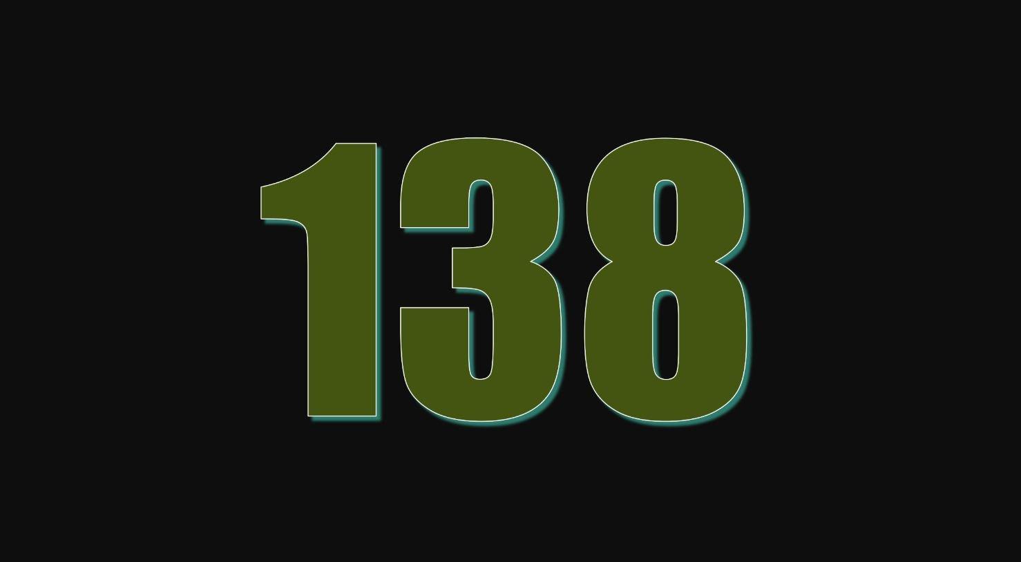 Il significato del numero 138