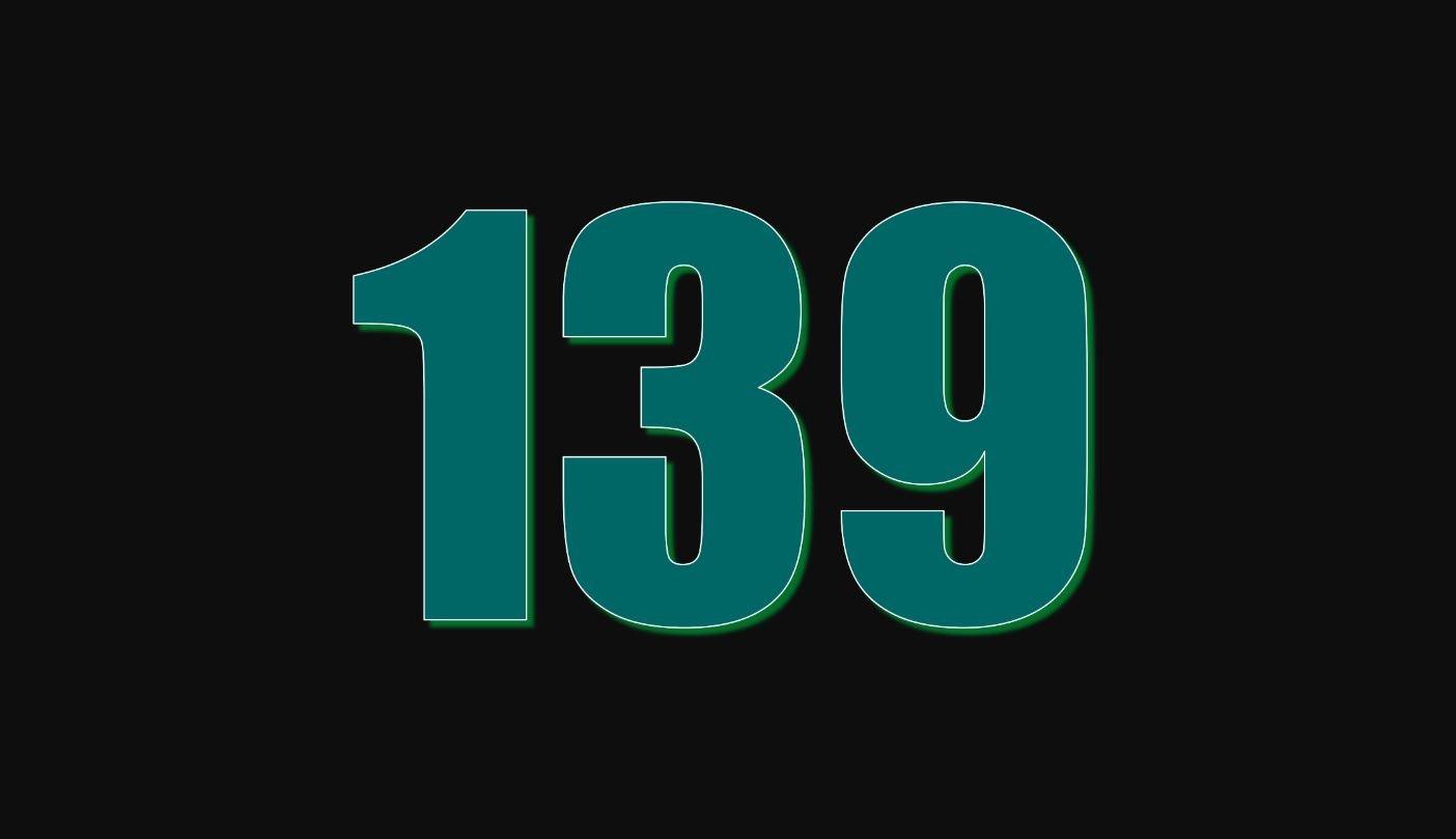 Il significato del numero 139