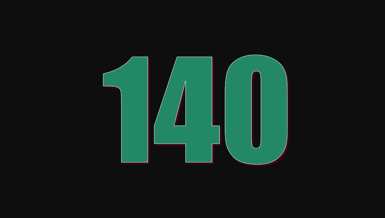 Il significato del numero 140