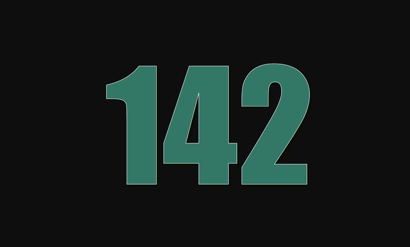 Il significato del numero 142