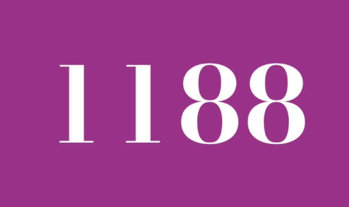 Il significato del numero 1188