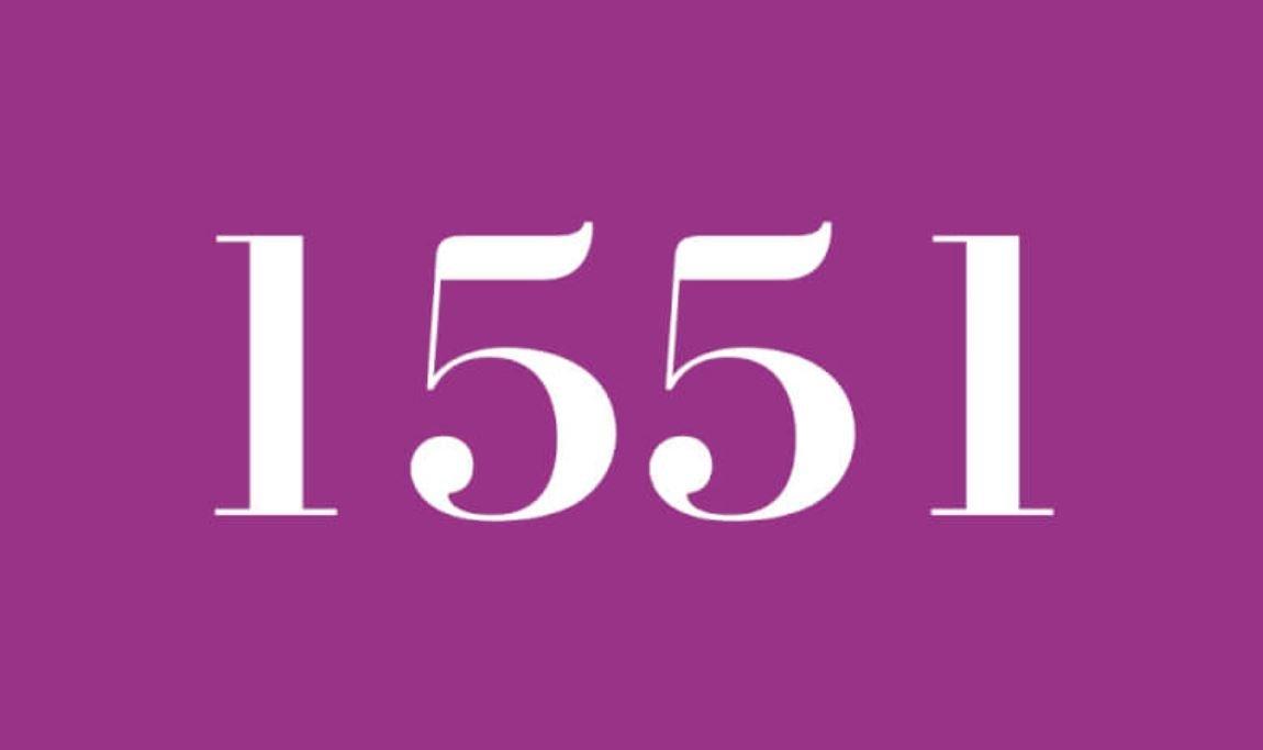 Il significato del numero 1551