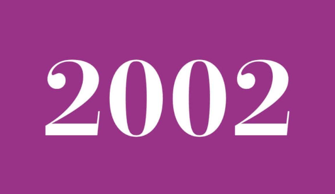 Il significato del numero 2002