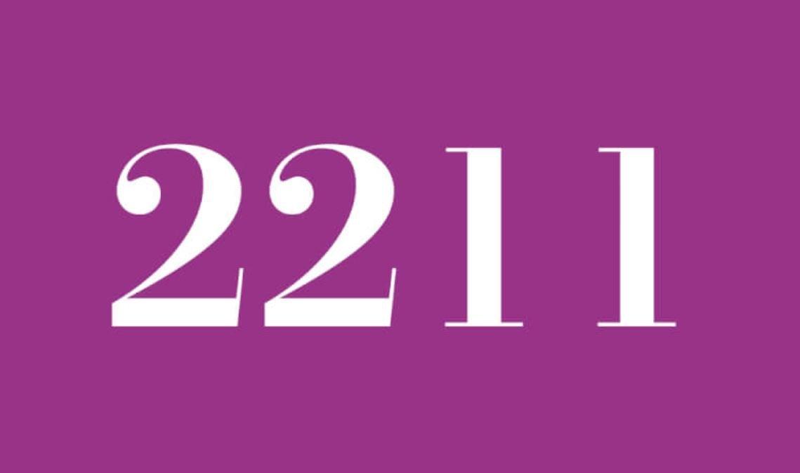 Il significato del numero 2211