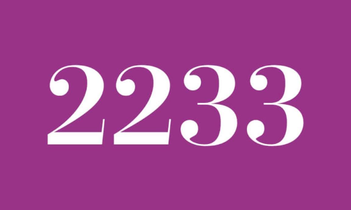 Il significato del numero 2233