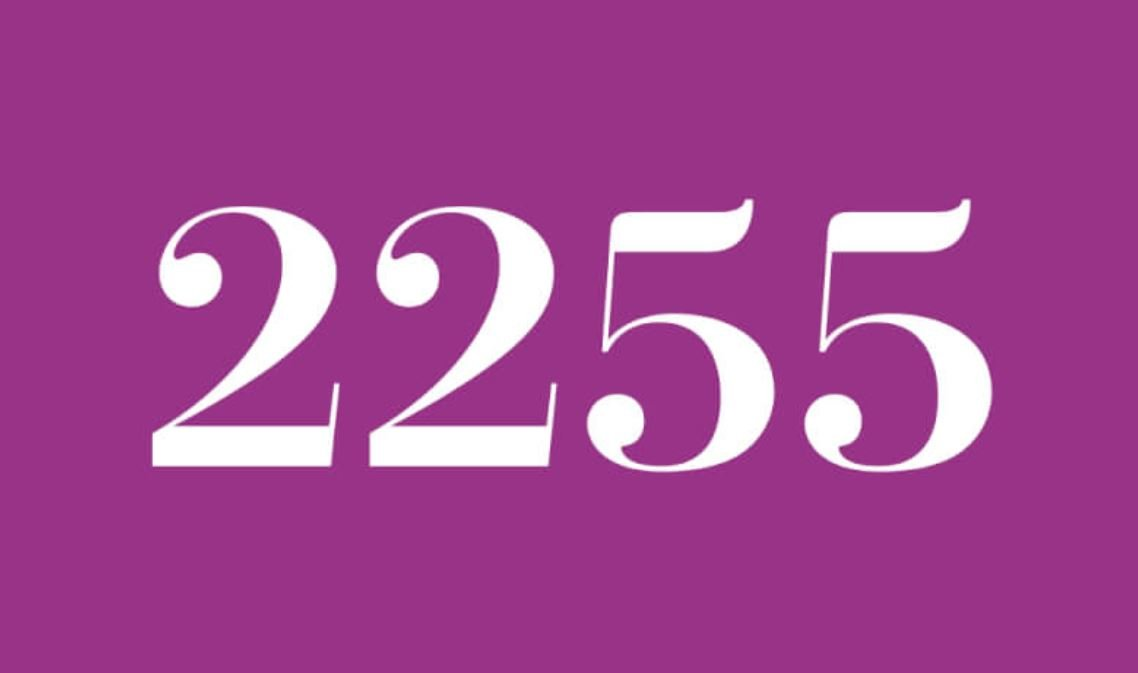 Il significato del numero 2255
