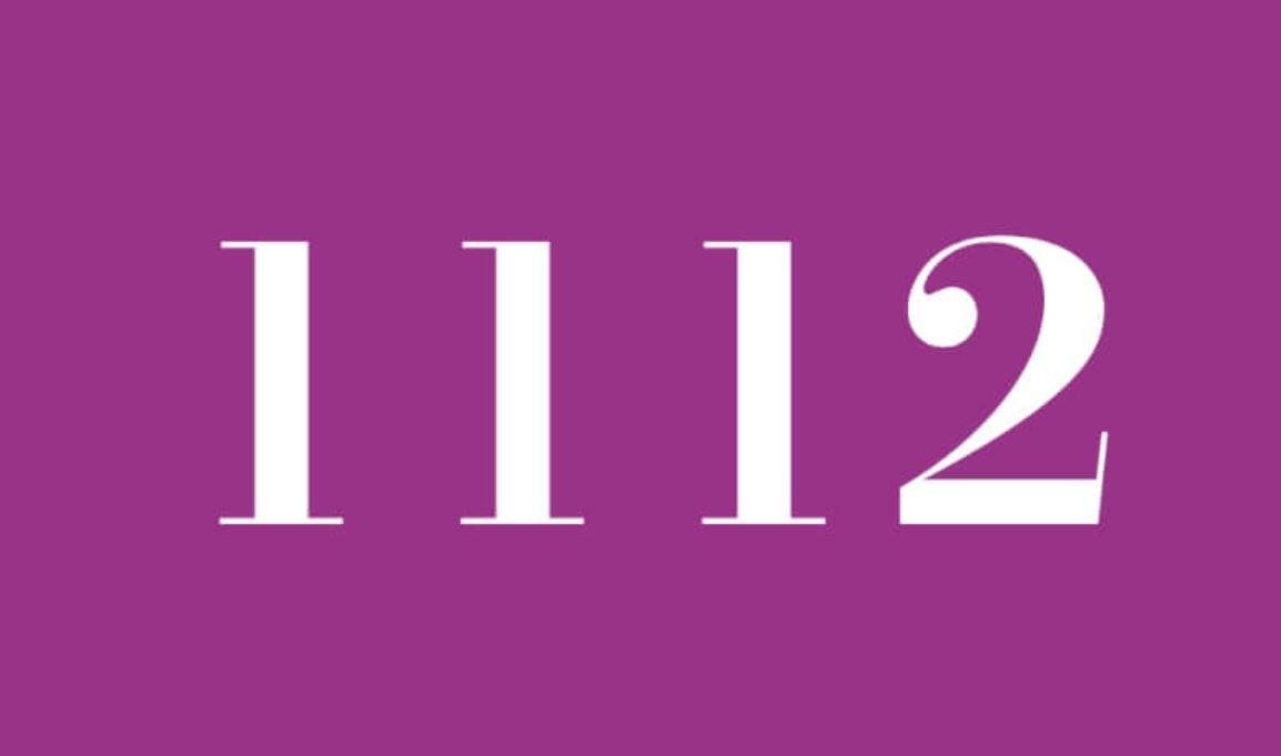 Il significato del numero 1112