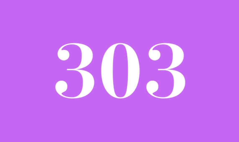 Il significato del numero 303