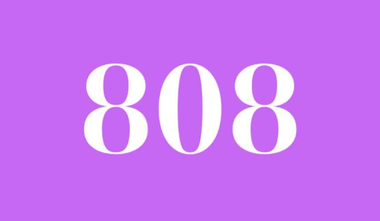 Il significato del numero 808