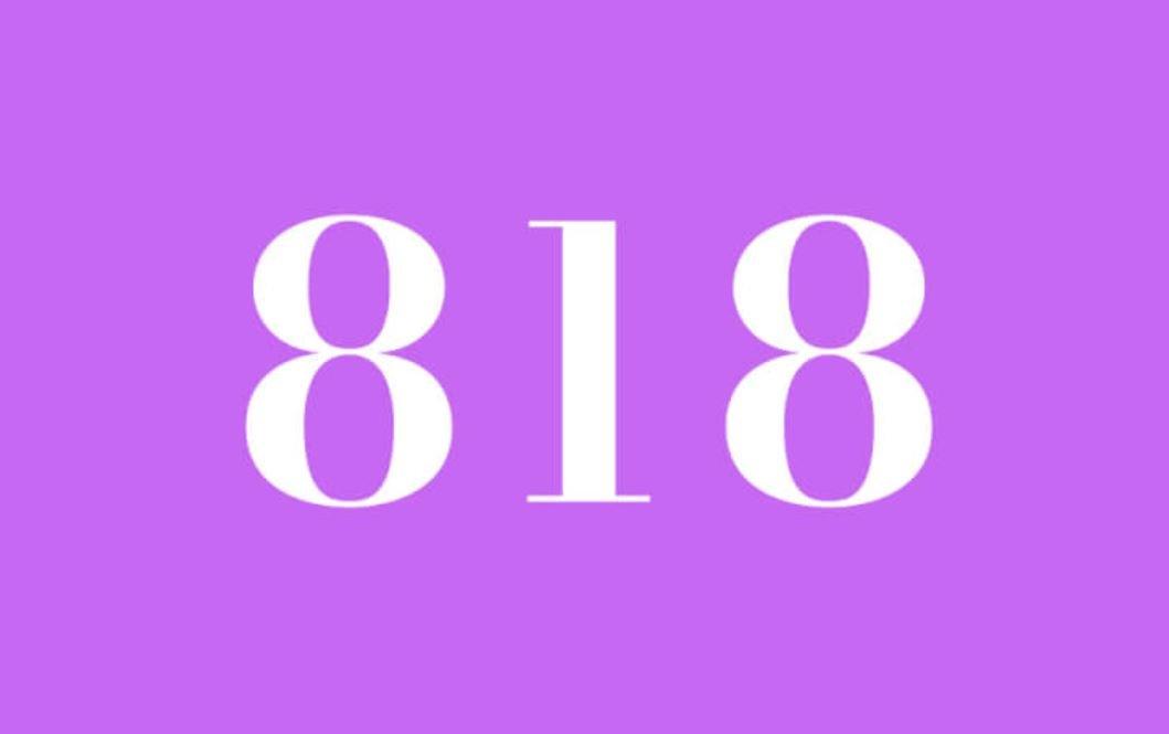 Il significato del numero 818
