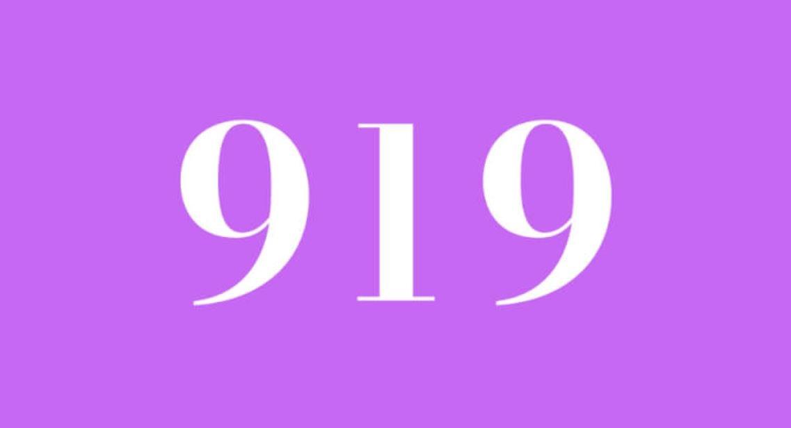 Il significato del numero 919