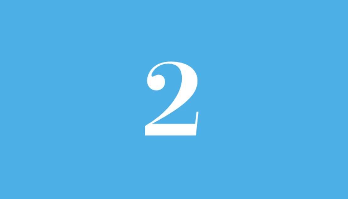 Significato del Numero Angelico 2