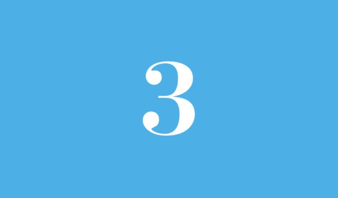 Significato del Numero Angelico 3