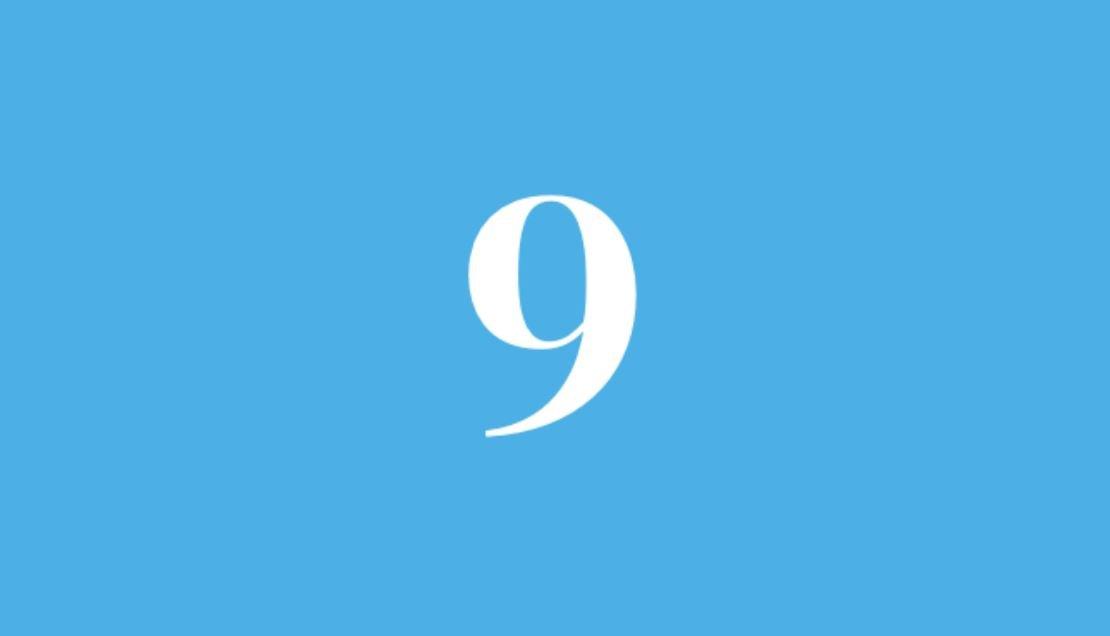 Significato del Numero Angelico 9