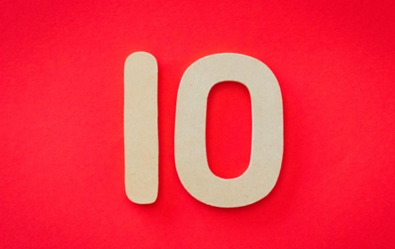 Significato del Numero Angelico 10