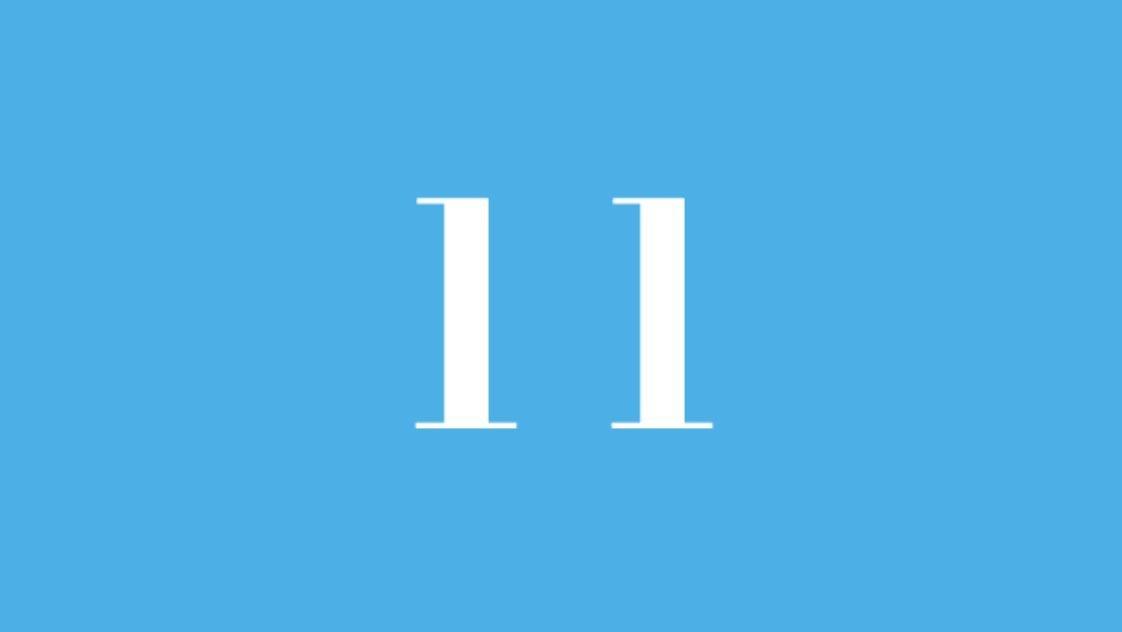 Significato del Numero Angelico 11