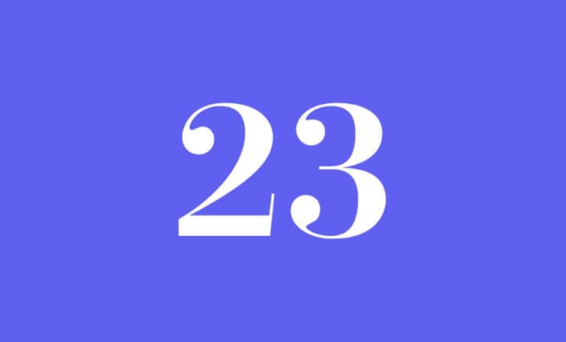 Significato del Numero Angelico 23