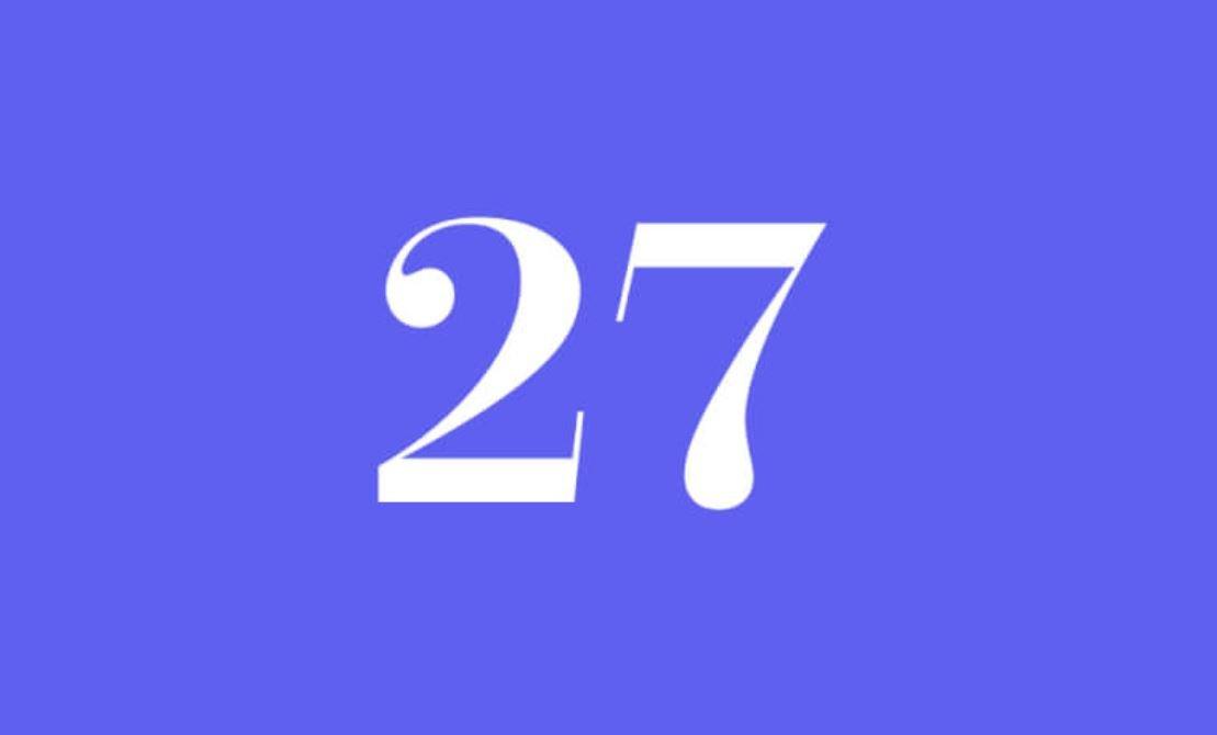 Significato del Numero Angelico 27