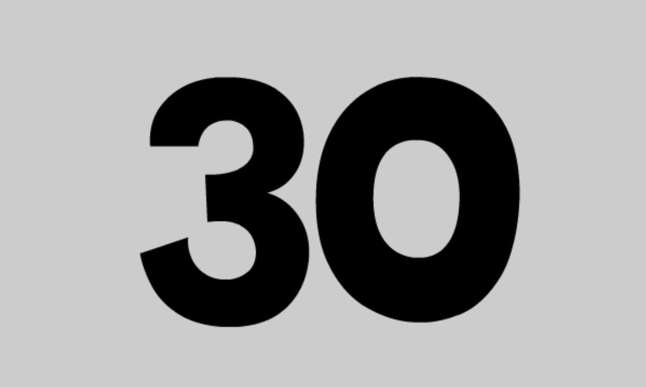 Significato del Numero Angelico 30
