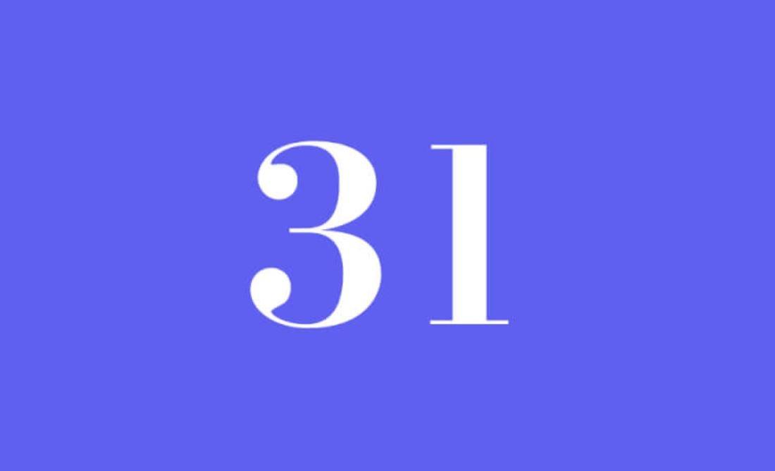 Significato del Numero Angelico 31