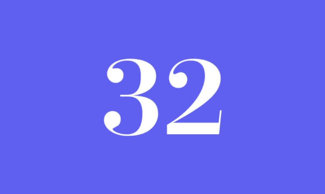 Significato del Numero Angelico 32