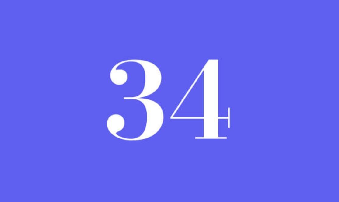 Significato del Numero Angelico 34