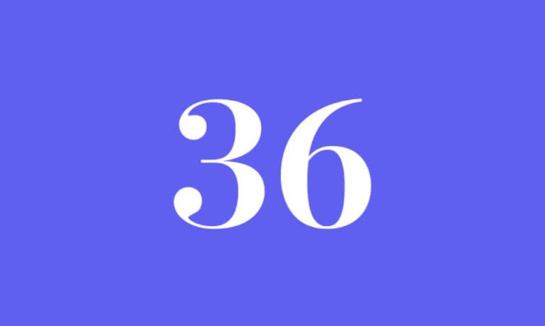 Significato del Numero Angelico 36