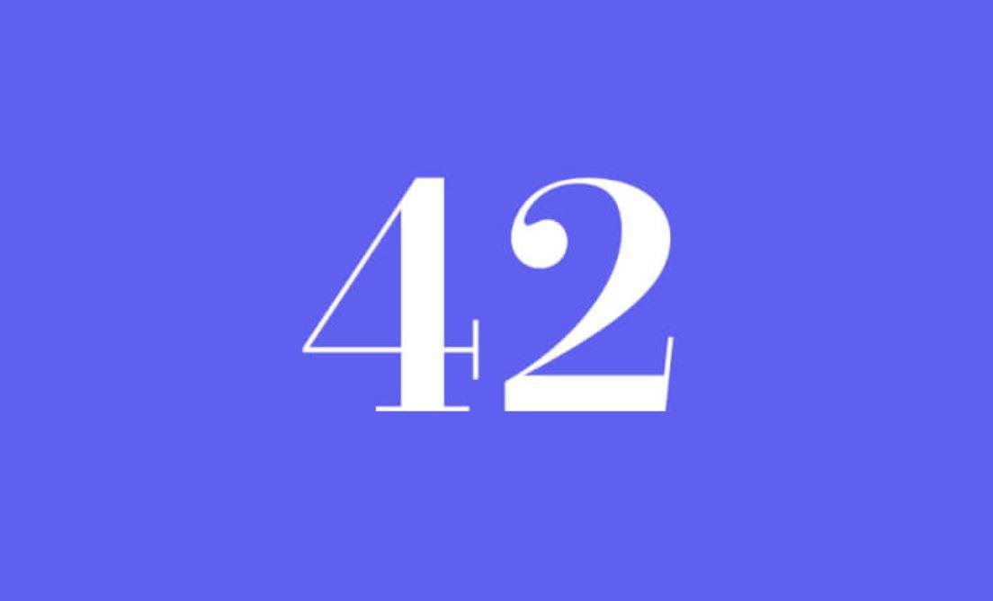 Significato del Numero Angelico 42