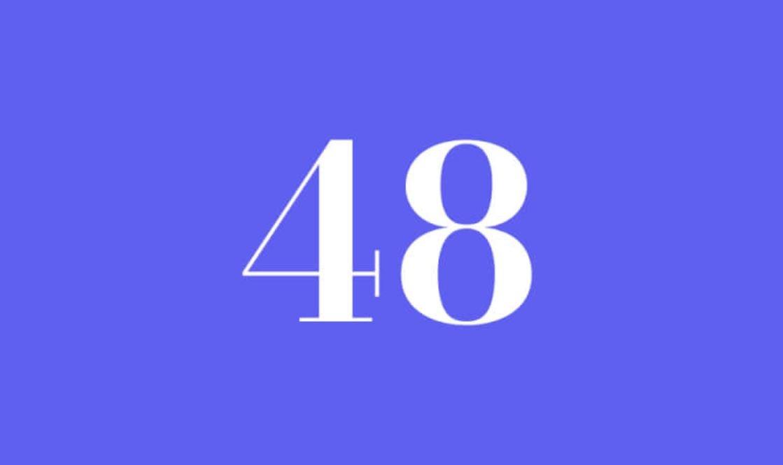 Significato del Numero Angelico 48
