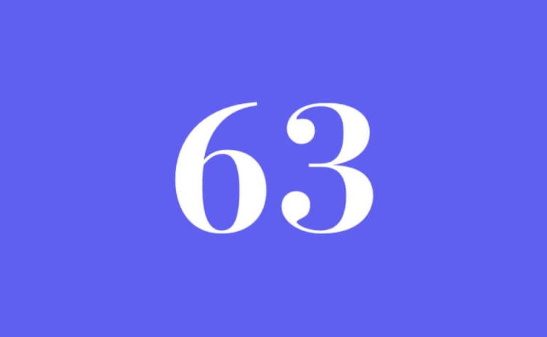 Significato del Numero Angelico 63