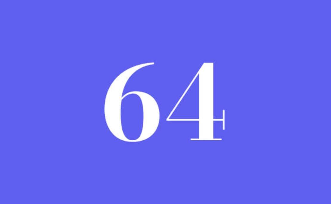 Significato del Numero Angelico 64