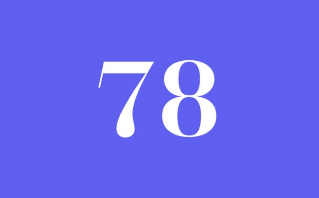 Significato del Numero Angelico 78