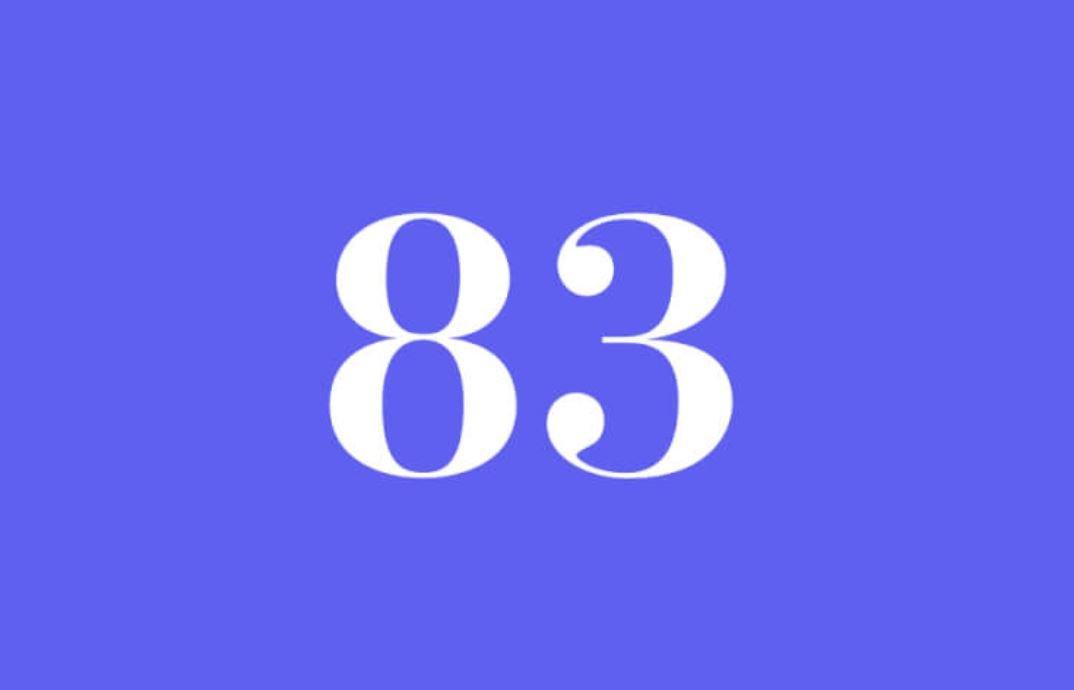 Significato del Numero Angelico 83