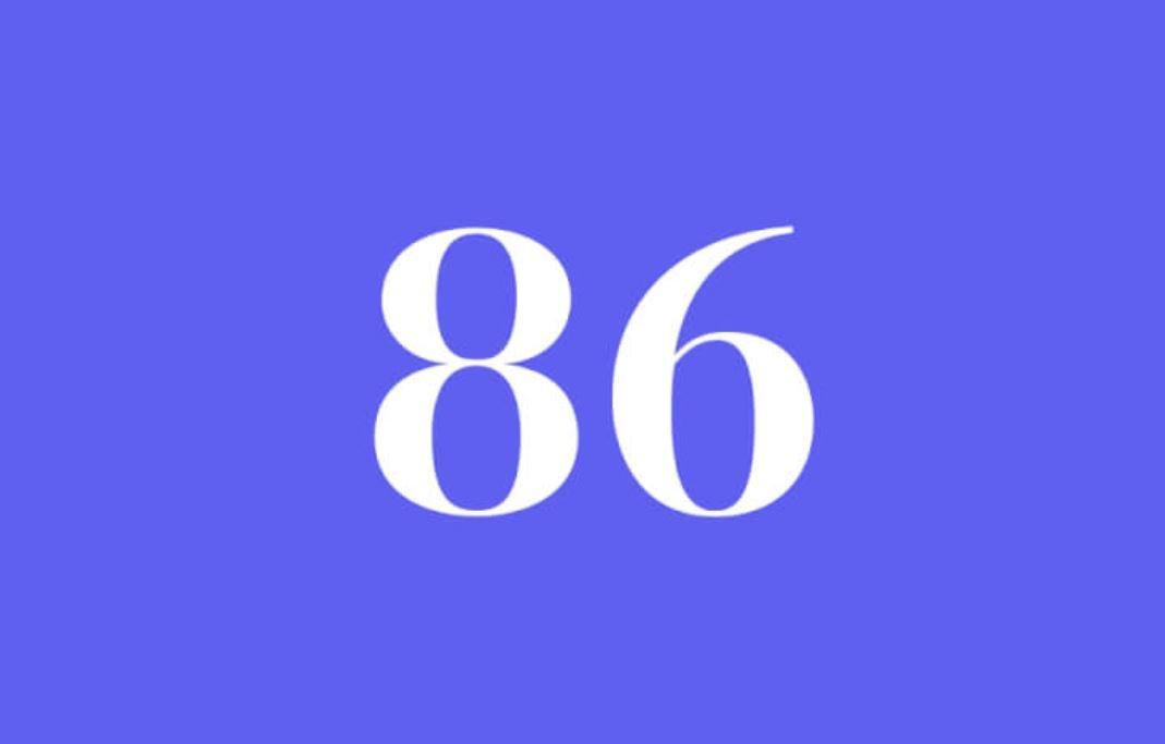 Significato del Numero Angelico 86