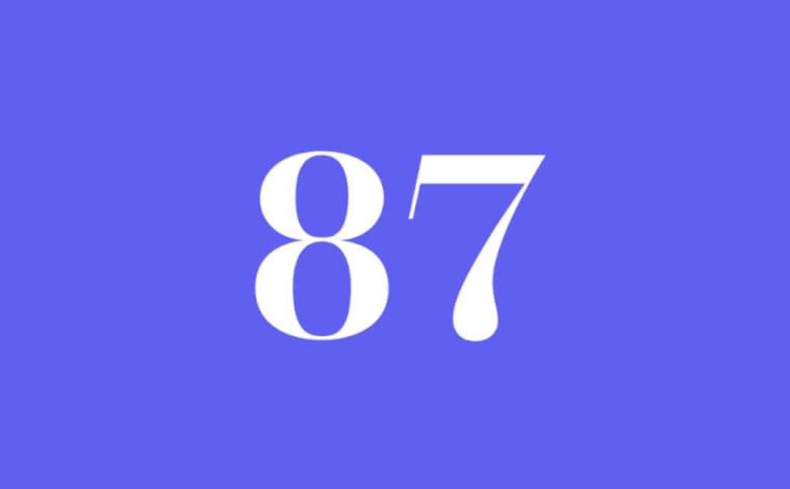 Significato del Numero Angelico 87