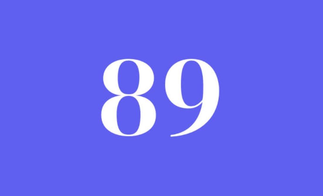 Significato del Numero Angelico 89