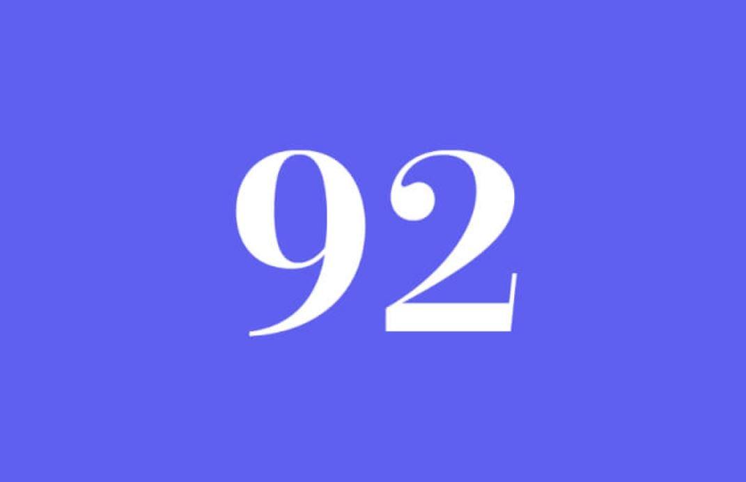 Significato del Numero Angelico 92