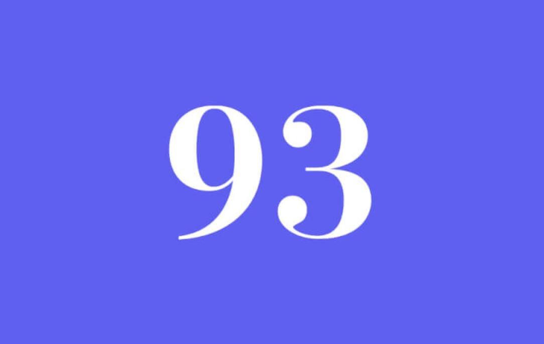Significato del Numero Angelico 93