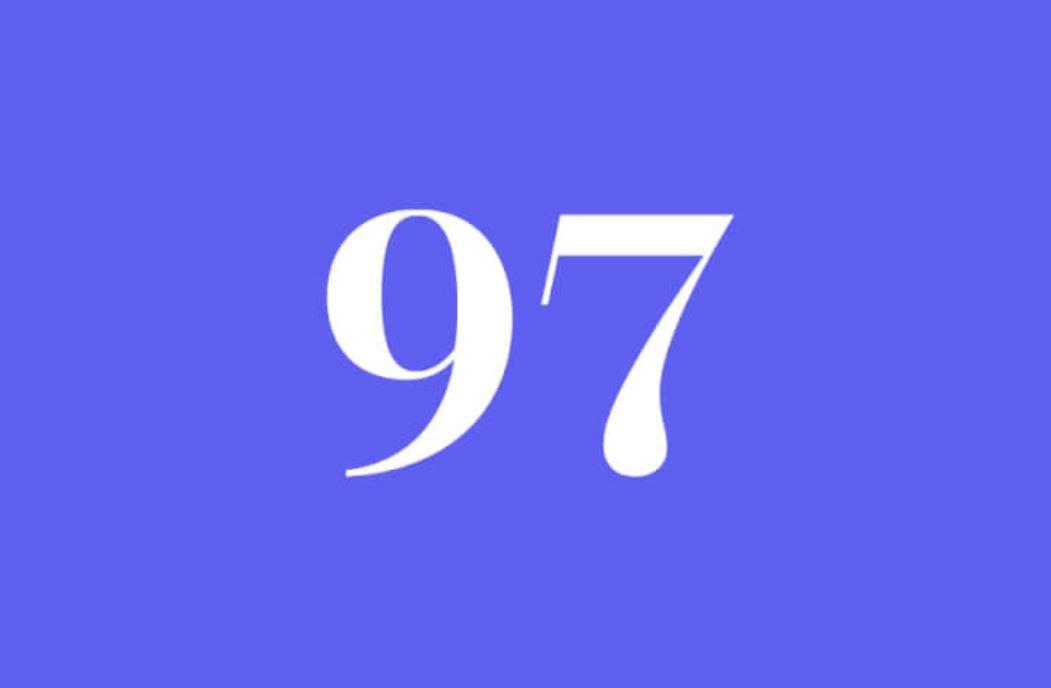 Significato del Numero Angelico 97