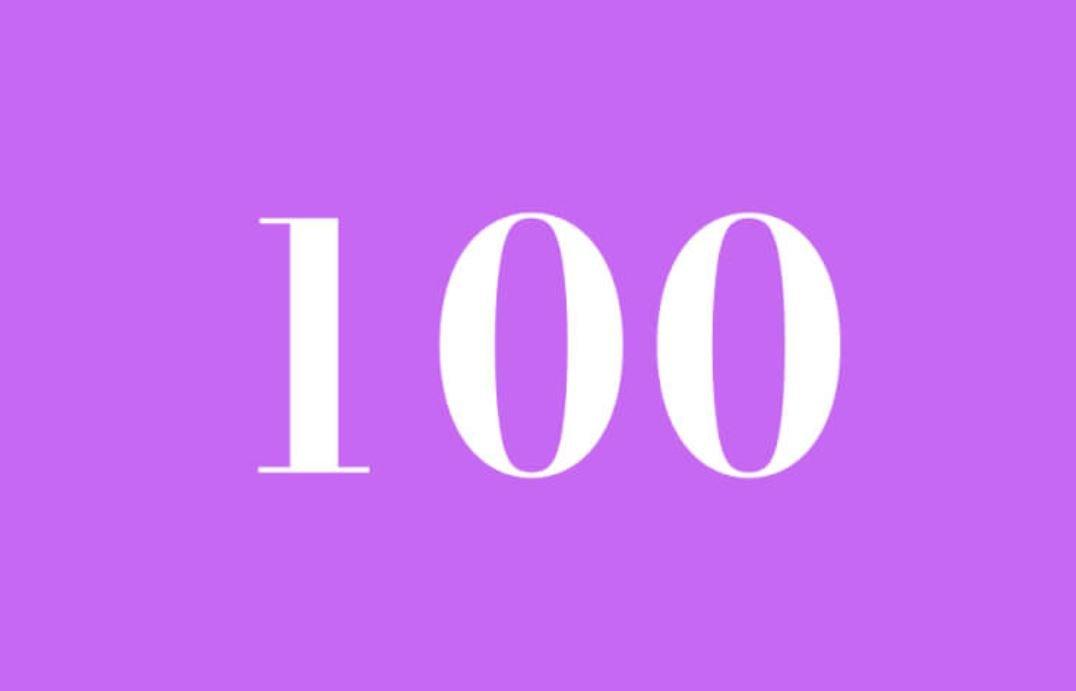 Significato del Numero Angelico 100
