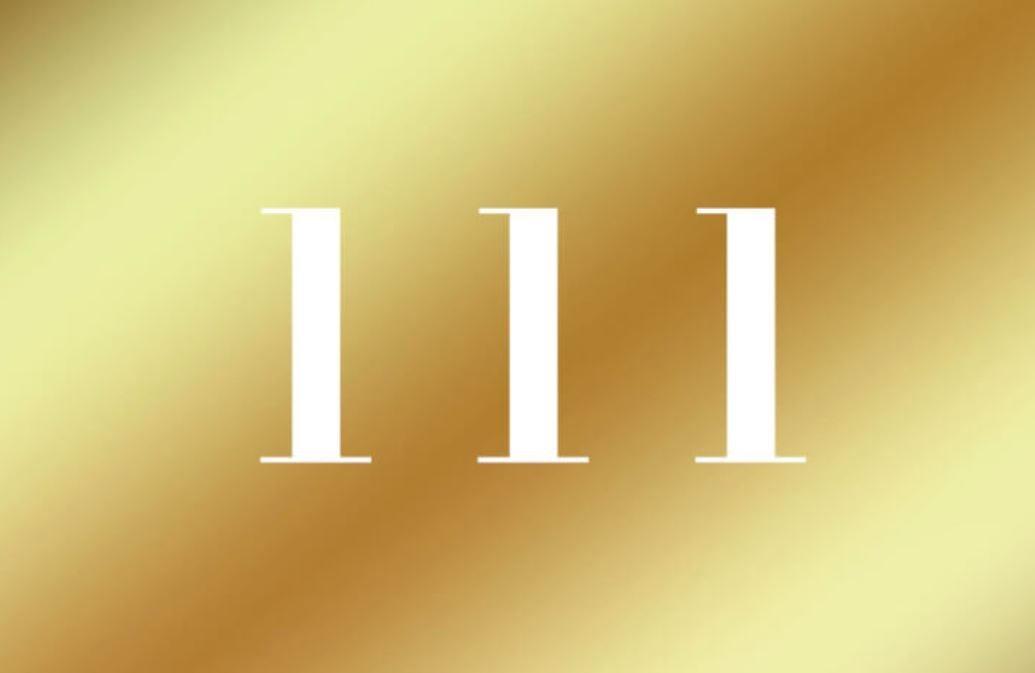 Significato del Numero Angelico 111