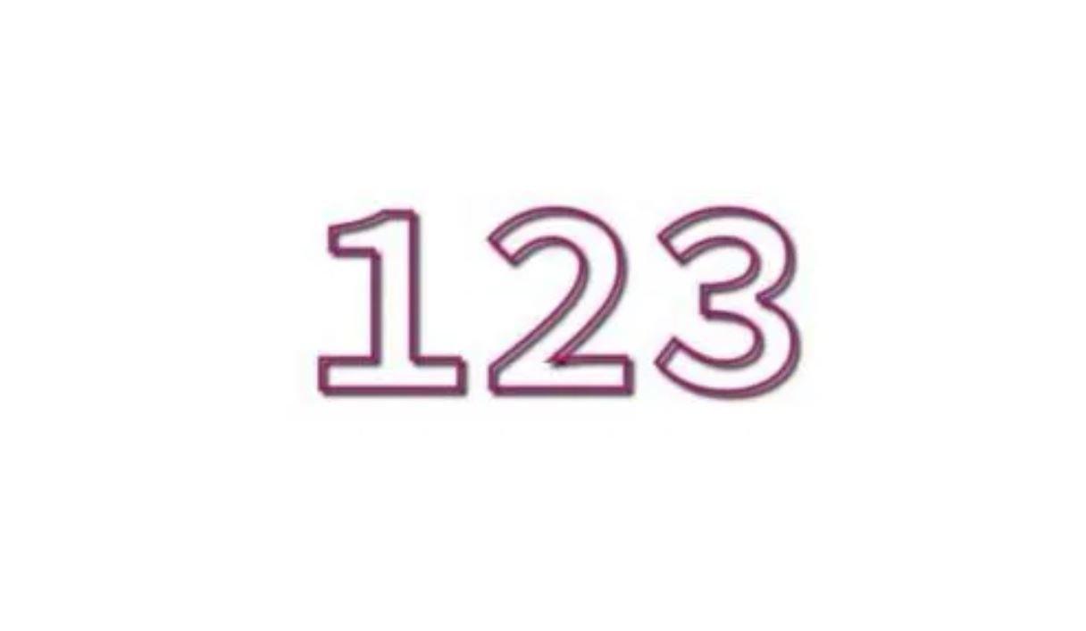 Significato del Numero Angelico 123